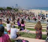 Miles de personas disfrutaron con los talleres de la Playa del Deporte 2020