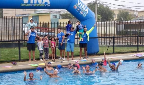 Vecinos de Viña del Mar disfrutaron gratuitamente de piscinas municipales durante este verano