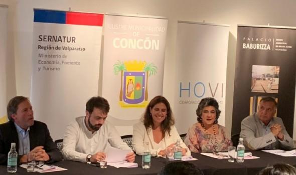 Municipios de Viña del Mar, Valparaíso, Concón y Casablanca firman inédito convenio para potenciar el turismo