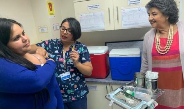 Atención Primaria de Salud está preparada para iniciar Campaña de Vacunación Anti-influenza