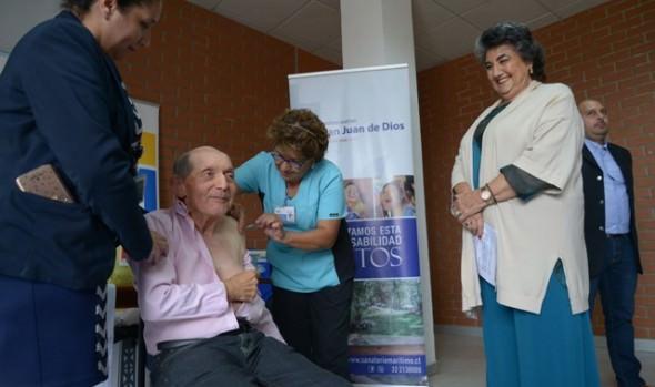 Con nuevos puntos de vacunación municipio se suma a campaña nacional anti-influenza 2020