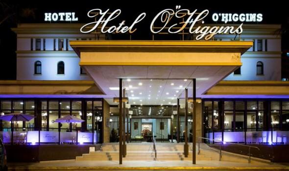Hotel O'Higgins se pone a disposición del Ministerio de Salud como centro de atención temporal