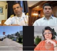 A través de aplicación para teletrabajo alcaldesa Virginia Reginato evaluó medidas de retorno de visitantes con ministro de Bienes Nacionales