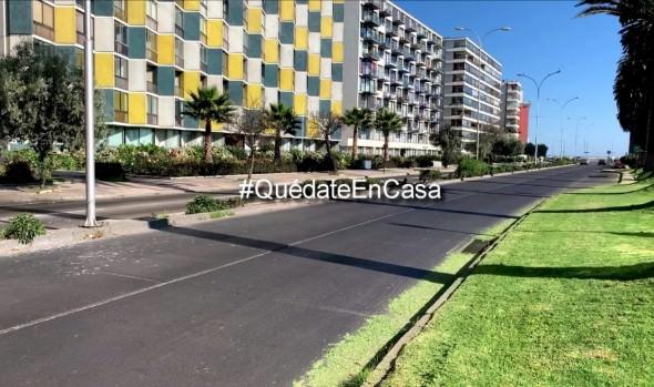 Municipio de Viña del Mar lanza campaña preventiva para no visitar la ciudad