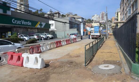 Se iniciaron obras de mejoramiento del circuito vial de calles Traslaviña, oriental y Etchevers Alto