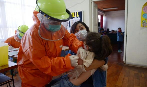 Inician  campaña de vacunación escolar contra la influenza en Viña del Mar