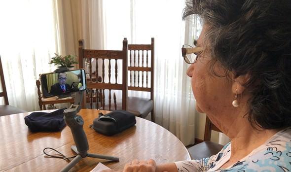 """Alcaldesa Virginia Reginato: """"En Viña todos nos cuidamos"""""""