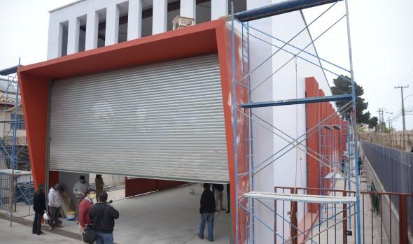 Nuevo cuartel de 8ª compañía de bomberos en Reñaca termina etapa de construcción