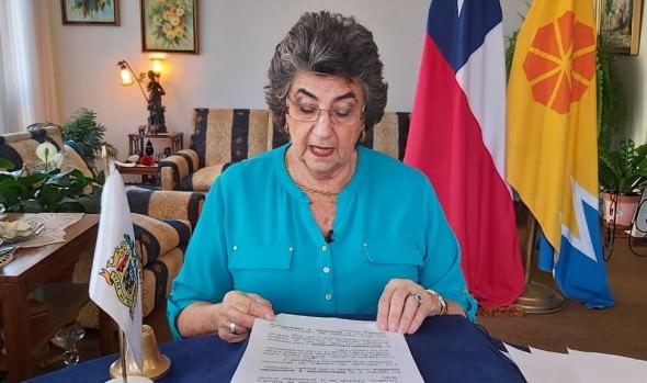 Con homenaje a los trabajadores de la salud, alcaldesa Virginia Reginato entregó Cuenta Pública 2019 vía streaming