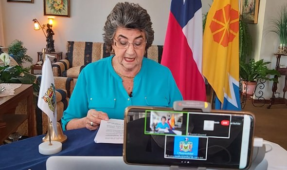 """Alcaldesa Virginia Reginato: """"En Viña, el Municipio sigue contigo"""""""