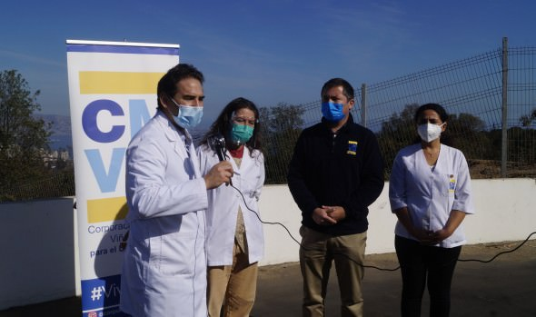 Salud municipal de Viña del Mar recibe importante donación de 7 mil mascarillas desde colegio médico de Valparaíso