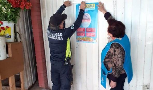 250 infracciones por no uso de mascarilla se han cursado en Viña del Mar