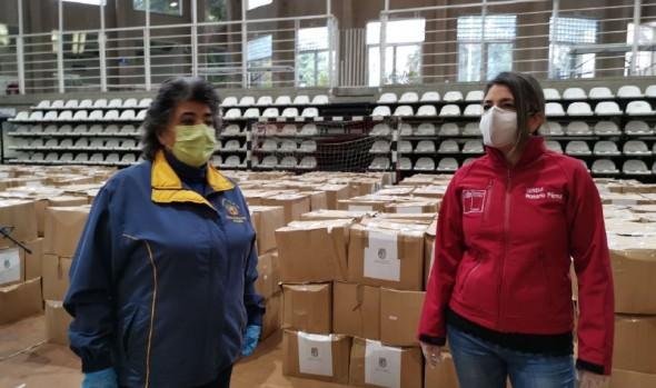 A partir de este jueves se distribuirán en Viña del Mar cerca de 40 mil cajas con alimentos y kits de aseo para familias vulnerables