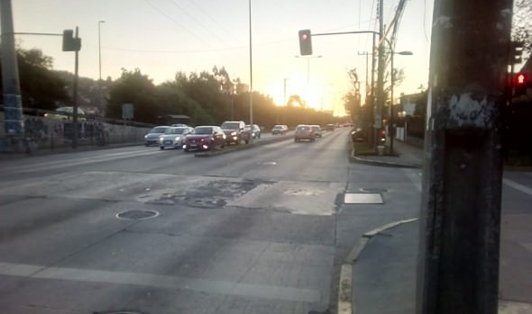 Por obras en colector Los Abetos se implementarán desvíos de tránsito en 1 norte
