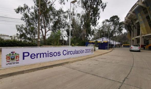 Municipio de Viña del Mar habilita estadio Sausalito para obtención de Permisos de Circulación