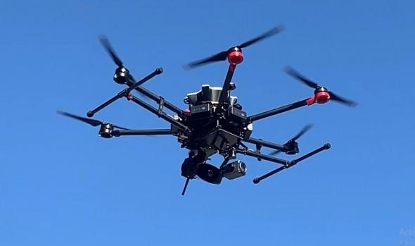 Drones municipales de Viña del Mar implementan megafonía para entregar información relevante a la comunidad