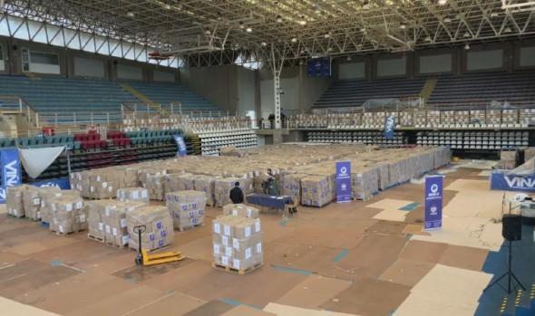 Municipio de Viña del Mar aumenta al doble entrega de cajas de alimentos diarias