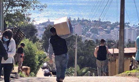 """Proceso de entrega de cajas """"Alimentos para Chile"""" finalizó en Viña del Mar que benefició a  61 mil familias"""