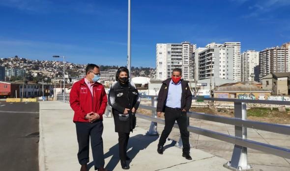 Nuevo puente Los Castaños, el primero en construirse en 50 años, se abrió al uso público