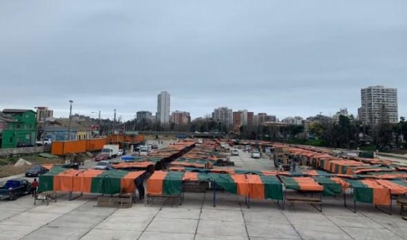 Feria hortofrutícola del estero vuelve con atención al público a su tradicional lugar