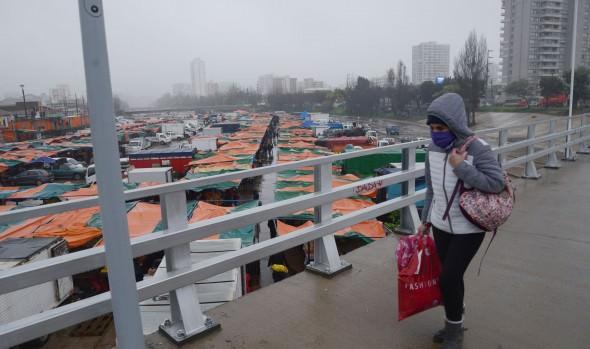 Locatarios y clientes de feria Marga Marga se manifestaron felices con retorno a histórica ubicación