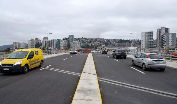Positivo balance de primeros días de operación del puente Los Castaños
