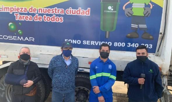 Municipio de Viña del Mar se hace parte de querella de trabajadores del aseo que recibieron amenazas por parte de vecino