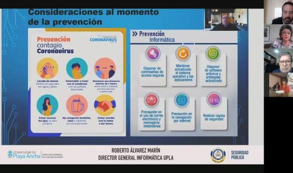 Municipio de Viña del Mar establece convenio de prevención de seguridad y emergencia en apoyo a la comunidad con Universidad de Playa Ancha