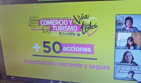 Municipio lanza potente plan para reactivar el comercio y el turismo de Viña del Mar