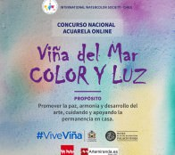 Municipio de Viña del Mar invita a participar en el Primer Concurso de Acuarela Online a nivel Nacional