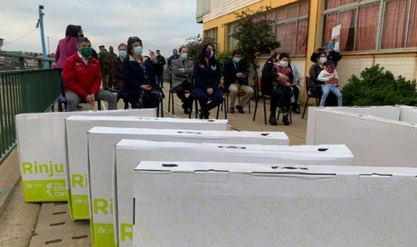 """En Viña del Mar se inició entrega de material didáctico """"Rincón del juego"""" a alumnos de Pre kinder"""