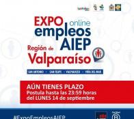Mil vacantes laborales ofrece en Viña del Mar, 1ª Expo Empleos AIEP, versión on line