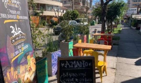 Comercio establecido y restaurantes de Viña del Mar podrán ocupar veredas y espacios públicos para reactivar sus ventas