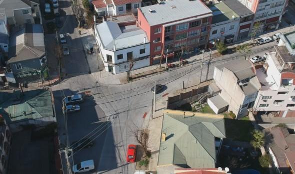 Habilitan al tránsito vehicular la totalidad de la renovada calzada de calles intervenidas en Recreo
