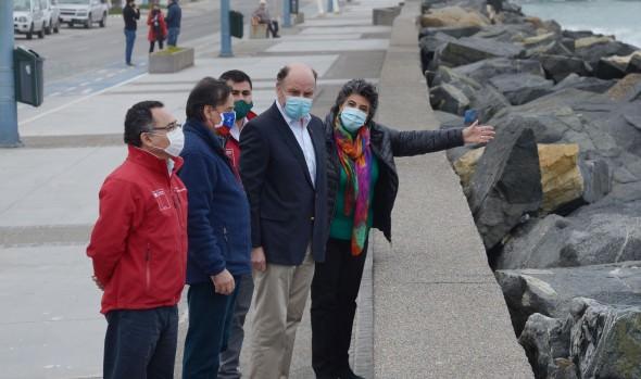 MOP ejecutará proyecto para proteger de las marejadas el borde costero en Av. Perú