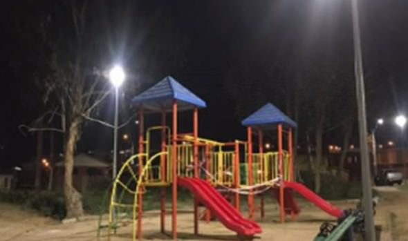 Municipio de Viña del Mar ejecuta proyectos de iluminación en sectores altos de la ciudad