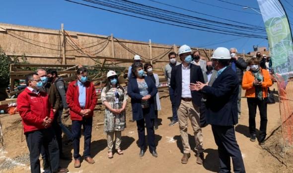 51% de avance registra obras de construcción de puentes en Reñaca