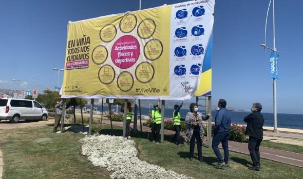 Alcaldesa Virginia Reginato hace llamado a seguir cumpliendo medidas de prevención tras levantamiento de la cuarentena en Viña del Mar