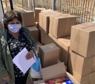 """Municipio de Viña del Mar desarrolla campaña """"Viña somos todos"""" en apoyo a familias afectadas por pandemia"""
