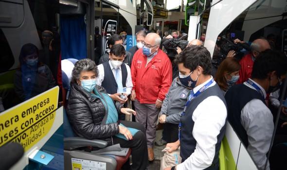 Terminal rodoviario de Viña del Mar reinició funciones tras 7 meses de permanecer cerrado por la pandemia