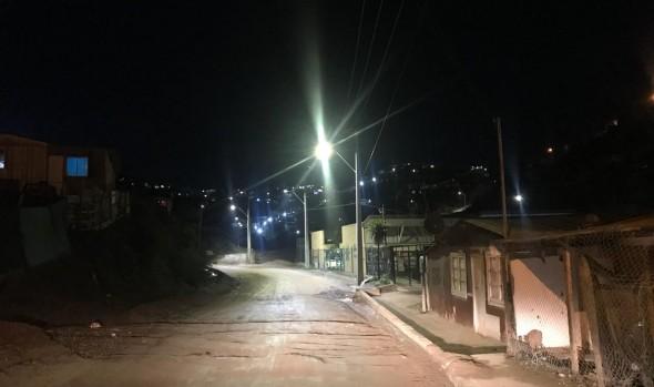 Inauguran mejoramiento de iluminación en Población Esperanza de Forestal
