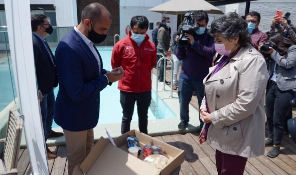 Autoridades verificaron protocolos de seguridad en alojamientos turísticos