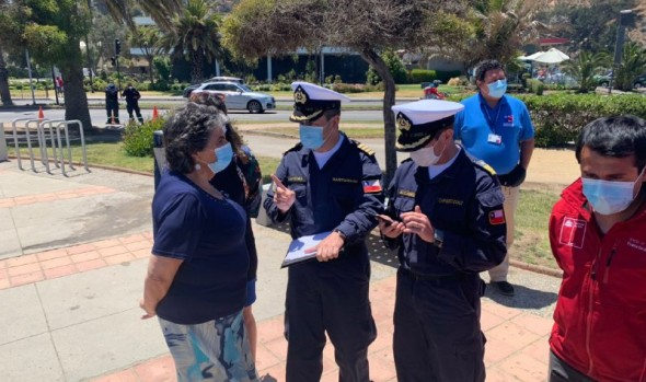 Temporada de playas debuta con aplicación que permite realizar denuncias por incumplimiento de protocolos sanitarios