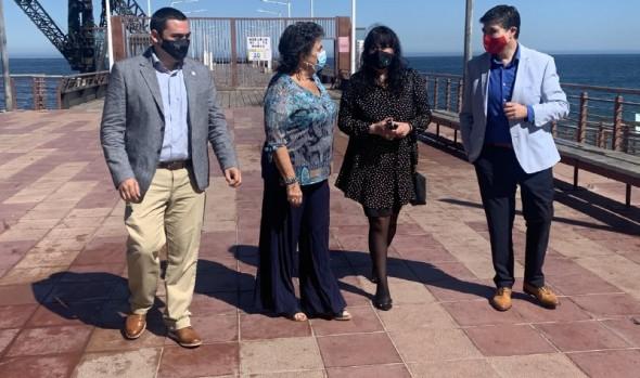 Alcaldesa y autoridades de turismo realizan llamado a respetar medidas sanitarias y de autocuidado en festividades de Año Nuevo