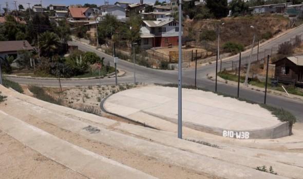 En Reñaca Alto inauguraron circuito y atravieso peatonal en el marco del programa Quiero Mi Barrio