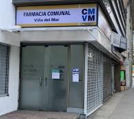 Farmacia comunal de Viña del Mar cierra sus puertas de manera preventiva ante posible contagios de covid-19