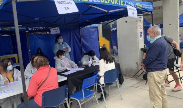 En Viña del Mar se espera llegar a más de 21 mil vacunaciones durante este miércoles