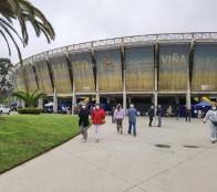 Estadio Sausalito fue dispuesto para vacunar a personas dializadas y con trasplante de órganos sólidos junto a trabajadores de la educación