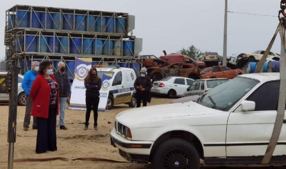 Municipio de Viña del Mar ha retirado más 60 vehículos abandonados en las calles de la ciudad