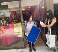 Municipio de Viña del Mar continúa entregando kit de protección sanitaria para el comercio